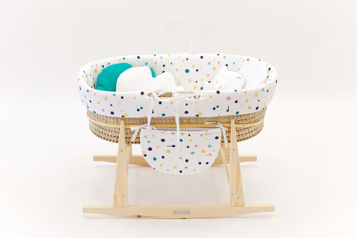 baby bassinet graffitti